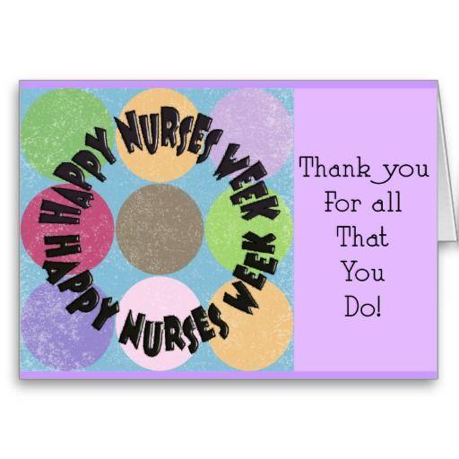 Happy nurses week card httpzazzlehappynursesweekcard happy nurses week card m4hsunfo Image collections