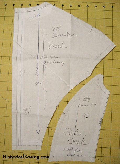 Matching Stripes On A Bodice Sewing Patterns Fashion Pinterest