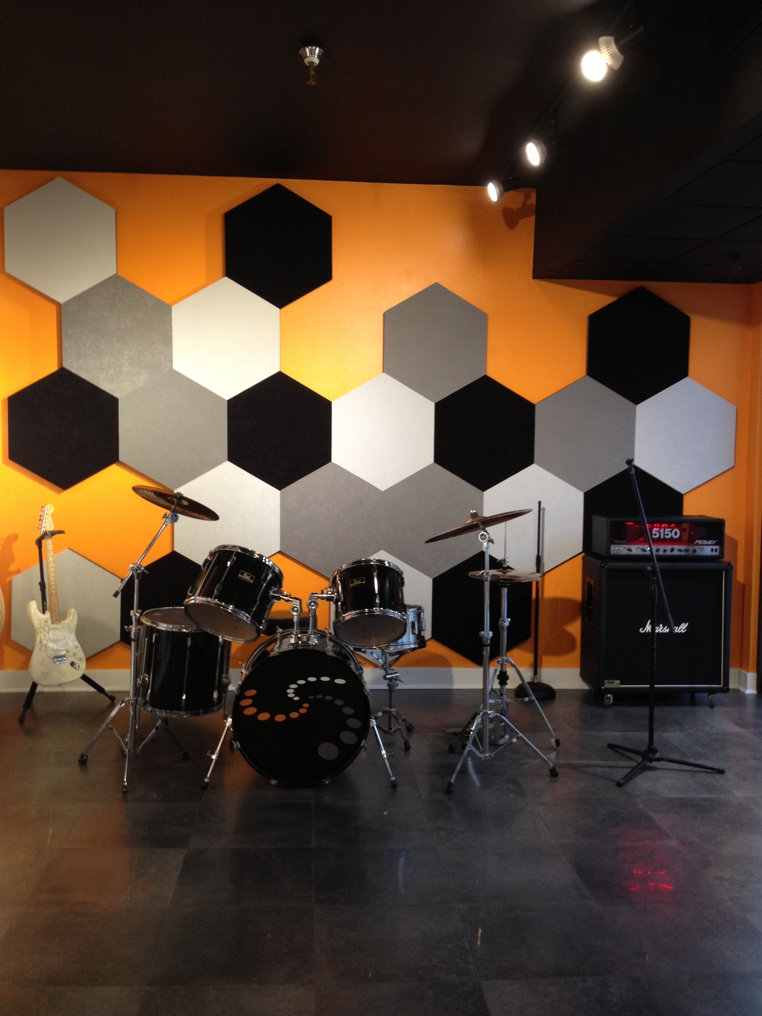 A Great Solution For A Music Room Wall Or Just Decorative