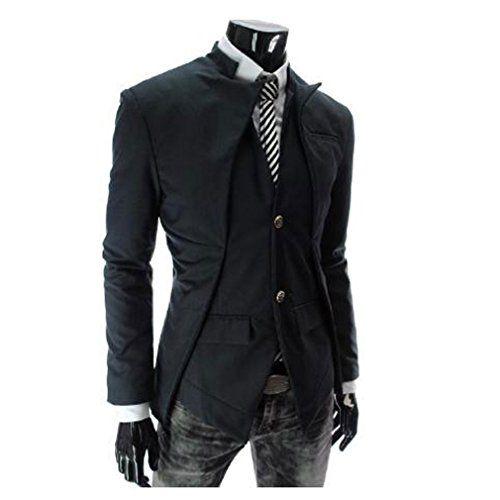 6 - TM black Men's Korean Casual asymmetric design slim fit Suit Blazer Jackets GIVE ME FIVE http://www.amazon.com/dp/B00LLVPBRO/ref=cm_sw_r_pi_dp_-VPwub04NPGWR