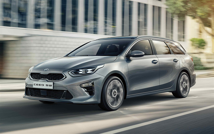 Download Wallpapers Kia Ceed Sportswagon 2019 Exterior 4k New Silver Ceed Station Wagon Ceed 2019 Korean Cars Besthqwallpapers Com Kia Ceed Kia Ceed Sw Kia