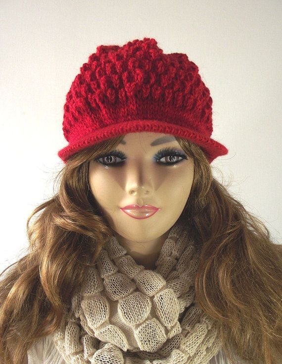 Knitting Newsboy Hat Pattern Knitted Hat By Liliacraftparty