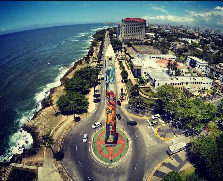 Obelisco hembra. Malecon de Santo Domingo, Distrito Nacional | Punta cana  hotels, Santo domingo, Tour around the world