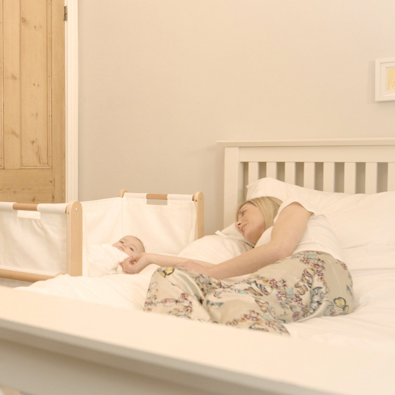 Baby bed next to mom - Snuzpod Bedside Crib And Mattress Natural Amazon Co Uk Baby