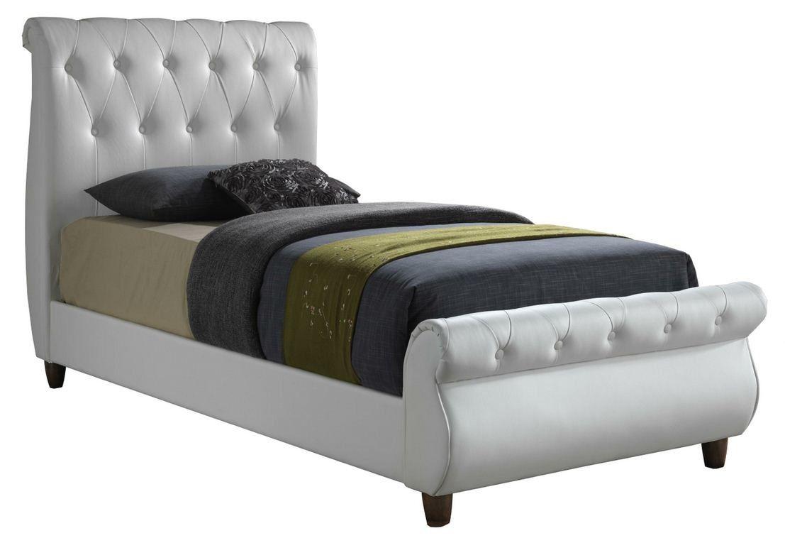 Zoelle Queen Platform Bed Sleigh Beds Bed Upholstered