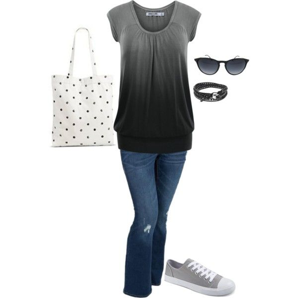 A fashion look from April 2016 featuring Old Navy jeans and Fantas-Eyes sunglasses. Browse and shop related looks.