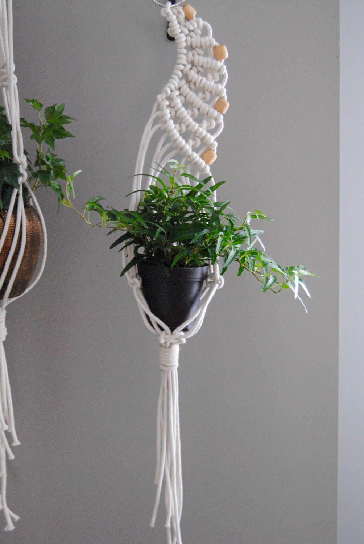 SALE MALAEKA Modern Macramé Plant Hanger by