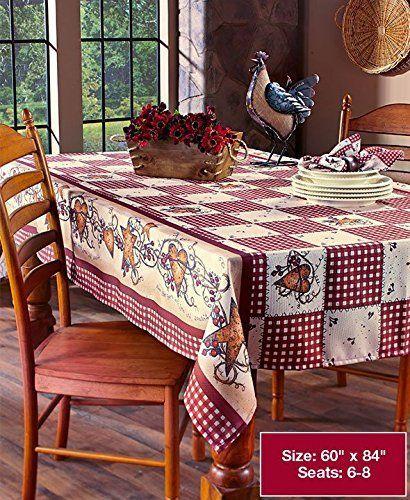 Linda Spivey Kitchen Decor Table Cloth Linens Primitive Country Hearts Stars Tablecloth Or Napkins Ki Apartment