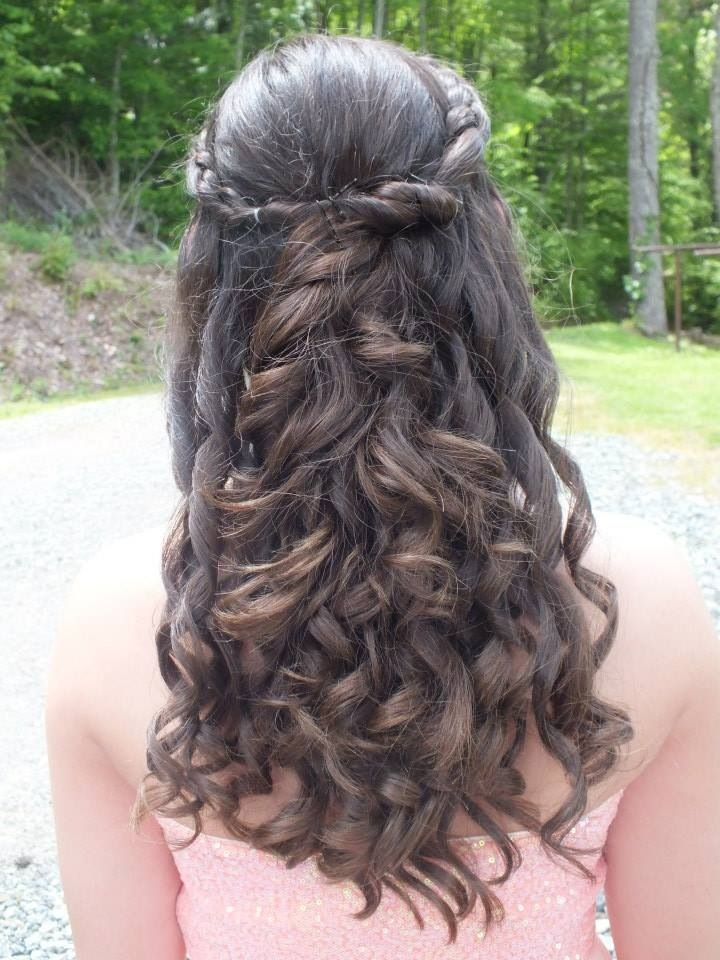 Hairstyles For Eighth Grade Dance : My hair for our th grade dance hairstyles