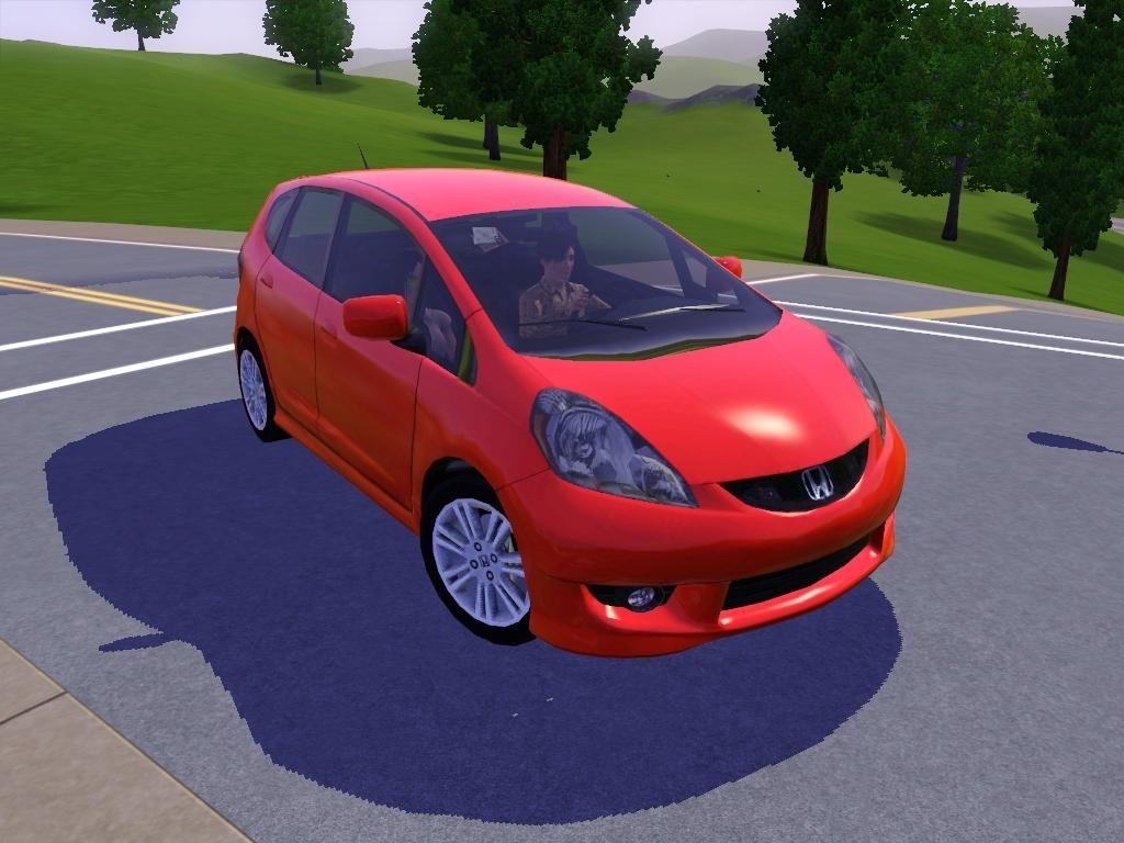 Mod The Sims 2009 Honda Fit (Jazz) Honda fit, 2009