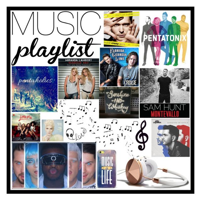 """""""#MyMusicPlaylist"""" by invincible-but-fearful ❤ liked on Polyvore featuring Abercrombie & Fitch, Casetify, Dot & Bo, ESPRIT, country, women's clothing, women, female, woman and misses"""