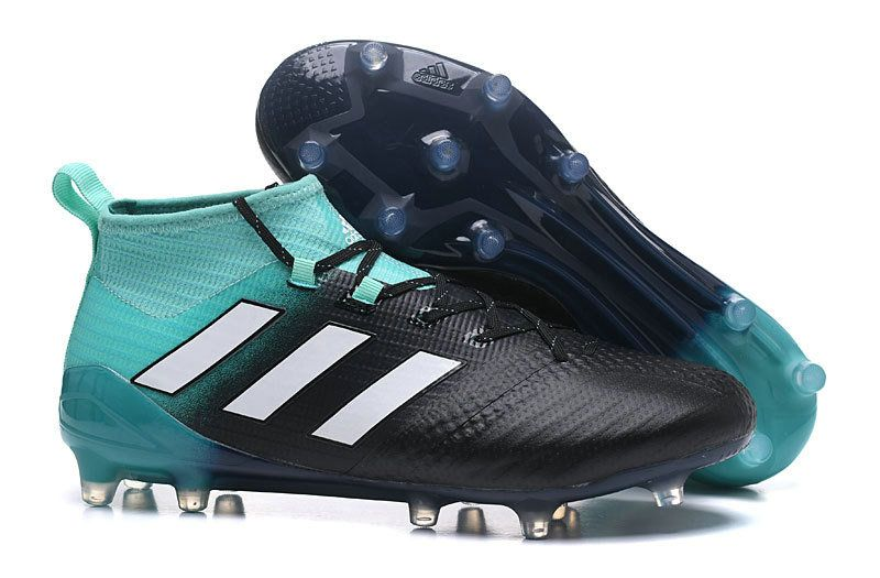 Popular 2018 Men Cool Adidas Ace 17 Purecontrol Fg Laceless Football Boots Green Black White Adidas Ace 17 Purecontrol Wholesa Football Boots Adidas Laceless