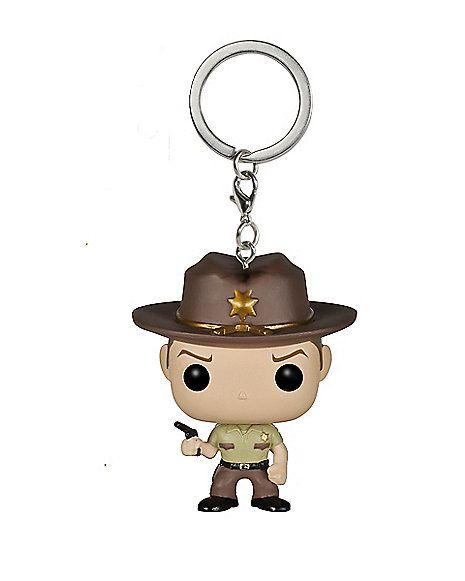 Funko Figure The Walking Dead Rick Grimes Pocket POP Keychain POP