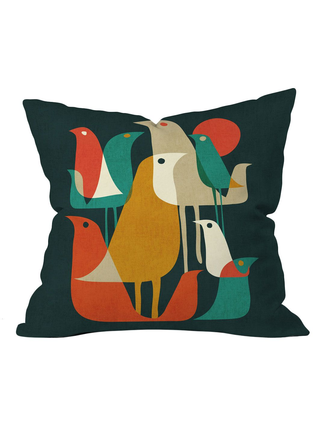 Flock Of Bird Outdoor Throw Pillow By Deny Designs At Gilt