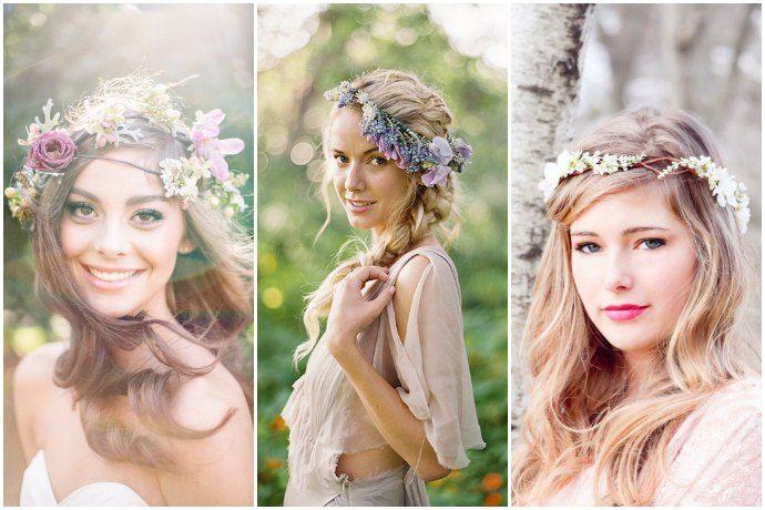 Lovely Inspiration 10 Ideen Fur Eine Hippie Hochzeit Oh Lovely Life Frisur Hochzeit Hochzeitsfrisuren Brautfrisur