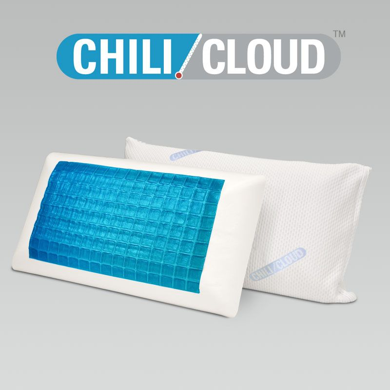 Chili Cloud Pillow Our Cooling Pillows Can Help You Sleep Cooler