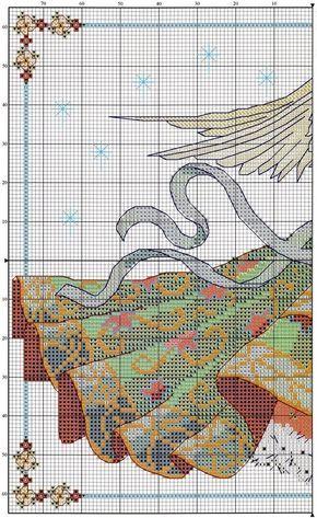 free christmas angel cross stitch patterns