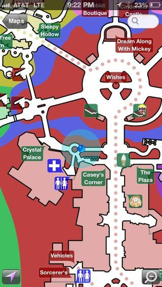 Disney World Maps app | Disney Apps | Pinterest | App, Vacation and ...