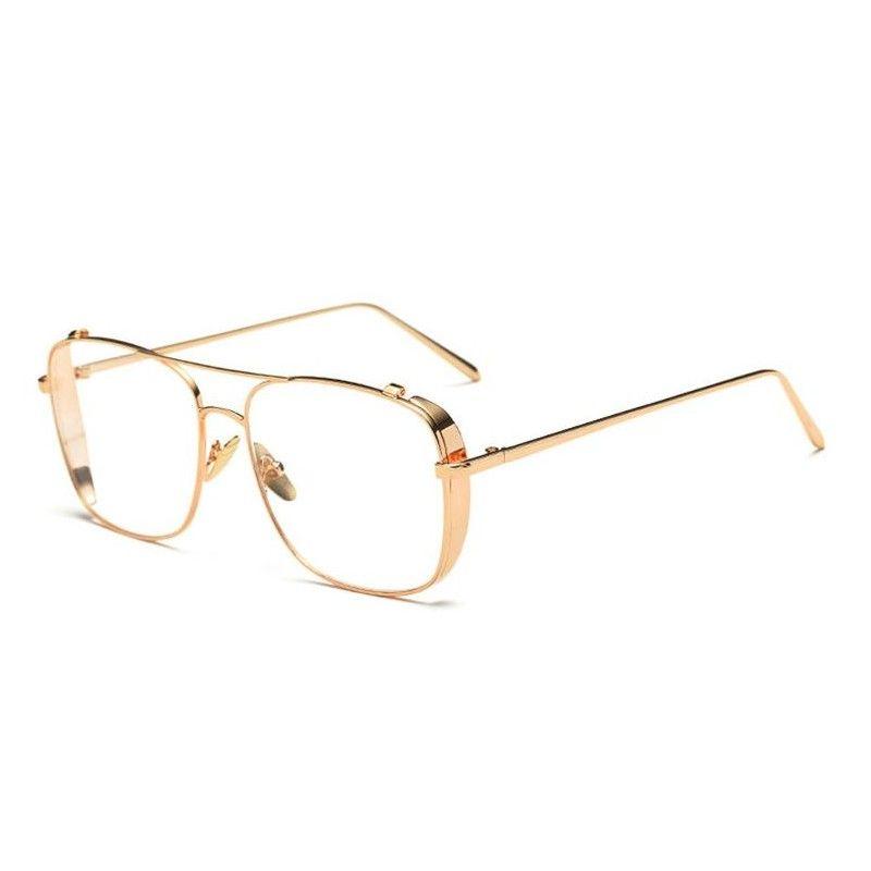 Lunette sans correction Narcos dorée   Narcos   Sunglasses ... 9d860ebfd658