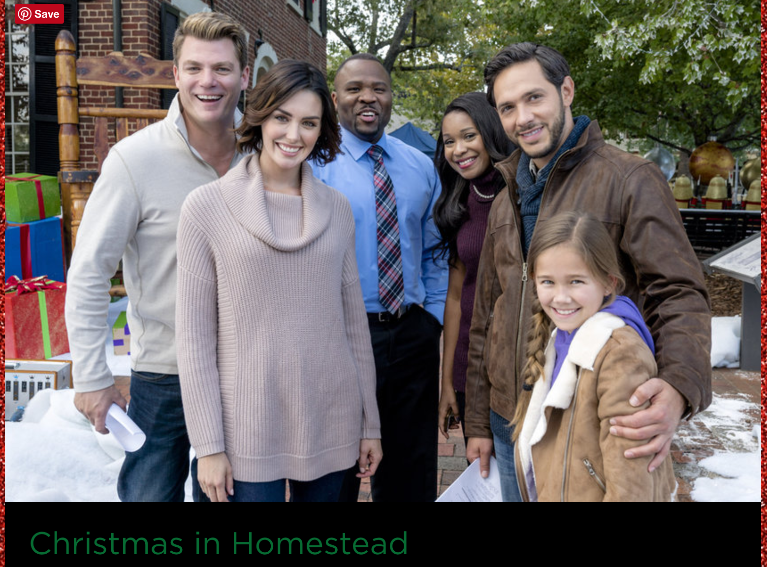 Taylor Cole Christmas In Homestead.Christmas In Homestead With Taylor Cole And Michael Rady