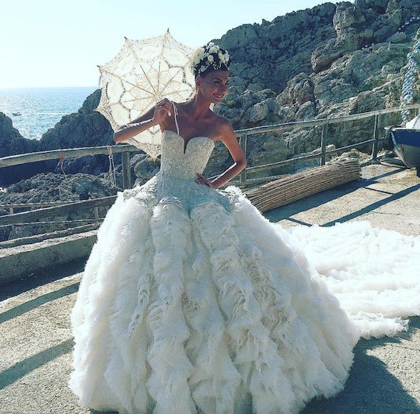 Giovanna Battaglia......by Alexander McQueen | And the Bridal party ...