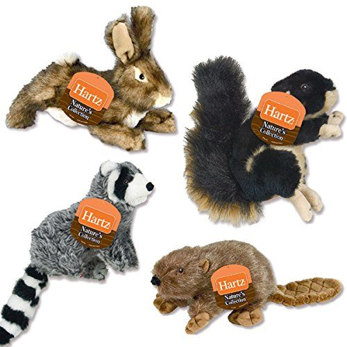 Hartz Natures Collection Small Plush Dog Toy Each Pack Of 9 Toy