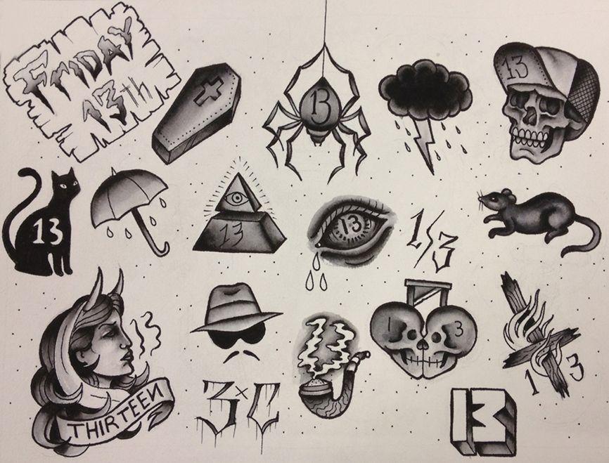 L mina alexis 1 tattoo pinterest tatuajes ideas de for Friday the 13th tattoos michigan