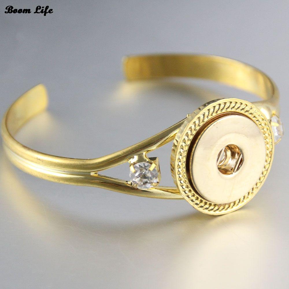Click to buy ucuc vintage gold crystal bracelet for women