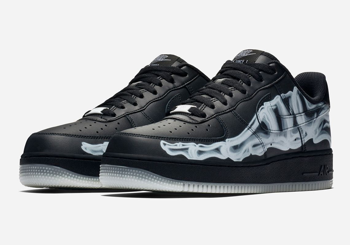 Buy The Spooky Nike Air Force 1 Low Skeleton Early Here