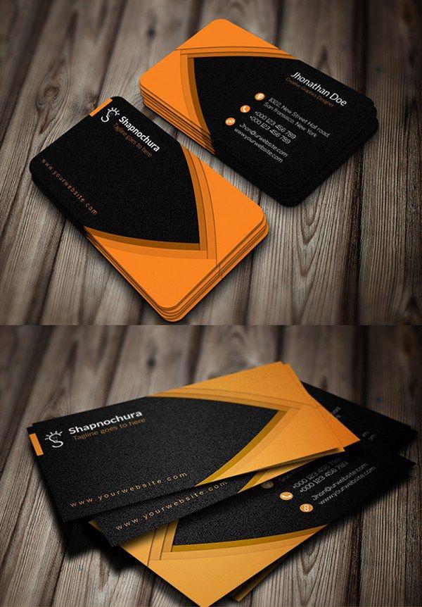 Creative Personal Business Card Design | Business Card | Pinterest ...