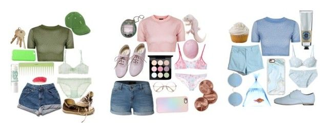 """pastel gals"" by lostatthestart ❤ liked on Polyvore featuring Eos, Topshop, Blugirl, UNIF, Rokin, Araks, LE3NO, L'Occitane, Casetify and MAC Cosmetics"