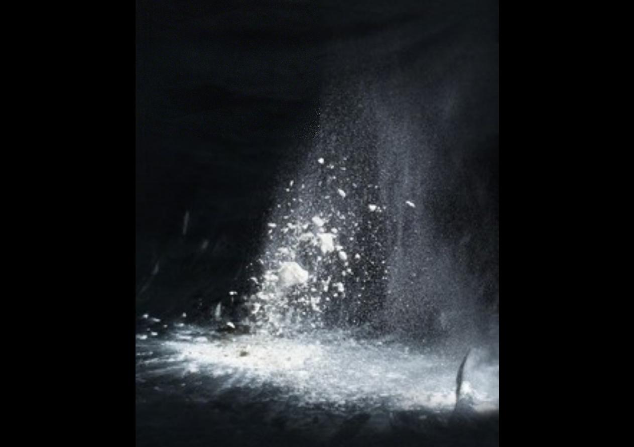 THOMAS ALBDORF Midday at the Klinser Waterfall [4], 2015