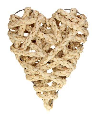 Vintage-Rope-Twist-Nautical-Wall-Hanging-Wicker-Love-Heart ...