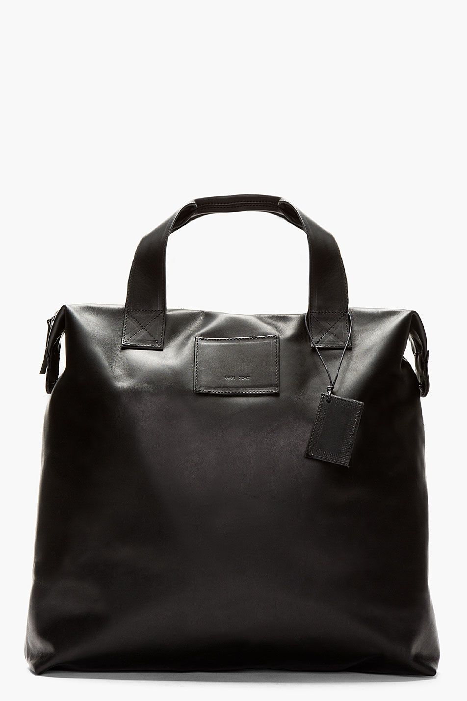 COMMON PROJECTS Black Supple Leather Tote