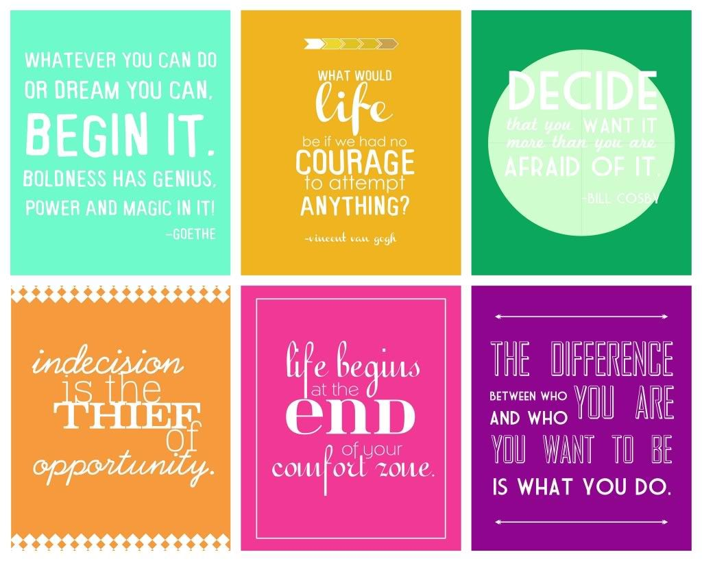 Printable Free Motivational Quote Printable Inspirational