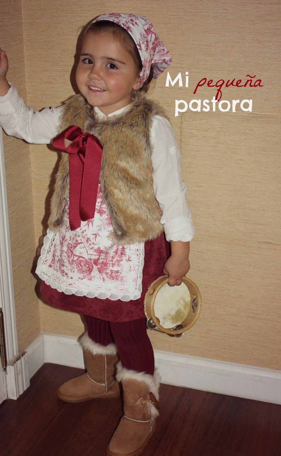 Rec rewind diy traje de pastora pastora traje de - Disfraces infantiles navidad ...