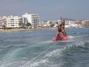 Ibiza water sports!