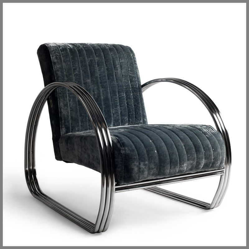 Wonderful Chrysler Chair Steel Blue   Occasional Chairs | Interiors Online   Furniture  Online U0026 Decorating Accessories