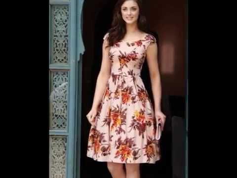 c23aa0c7d Vestidos hermosos tendencia 2017 - YouTube