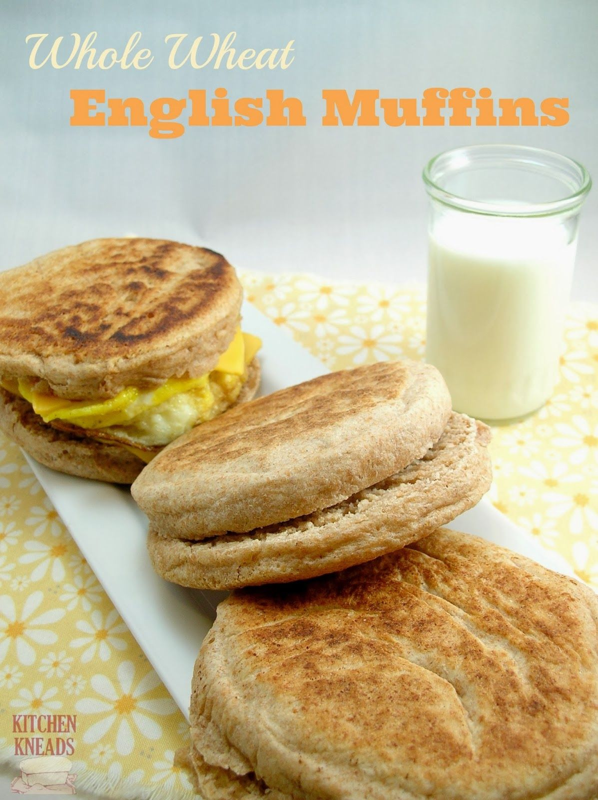 Whole Wheat English Muffins Whole Wheat English Muffin Real