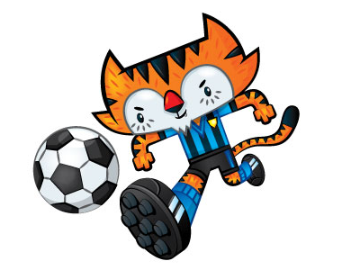 www.mascotize.com - Harimau!