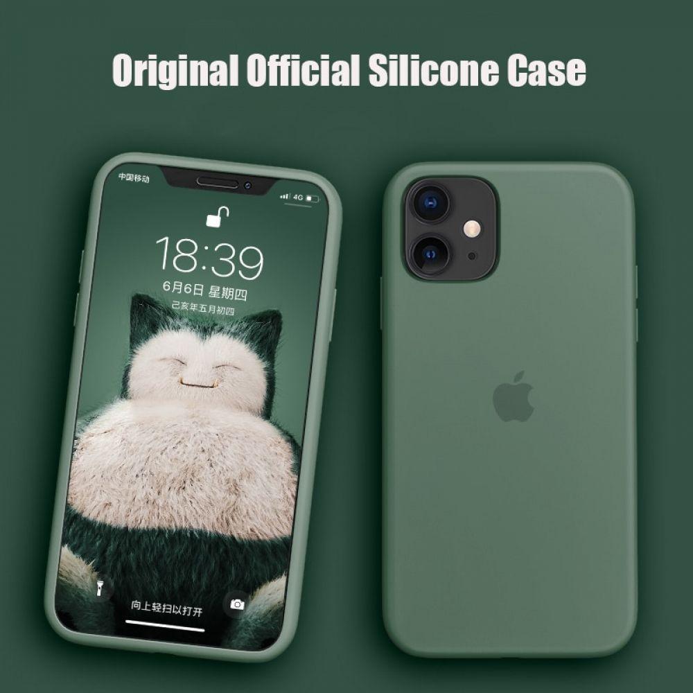 Funda - Apple Silicone Case Para el iPhone 11 Silicona Blanco