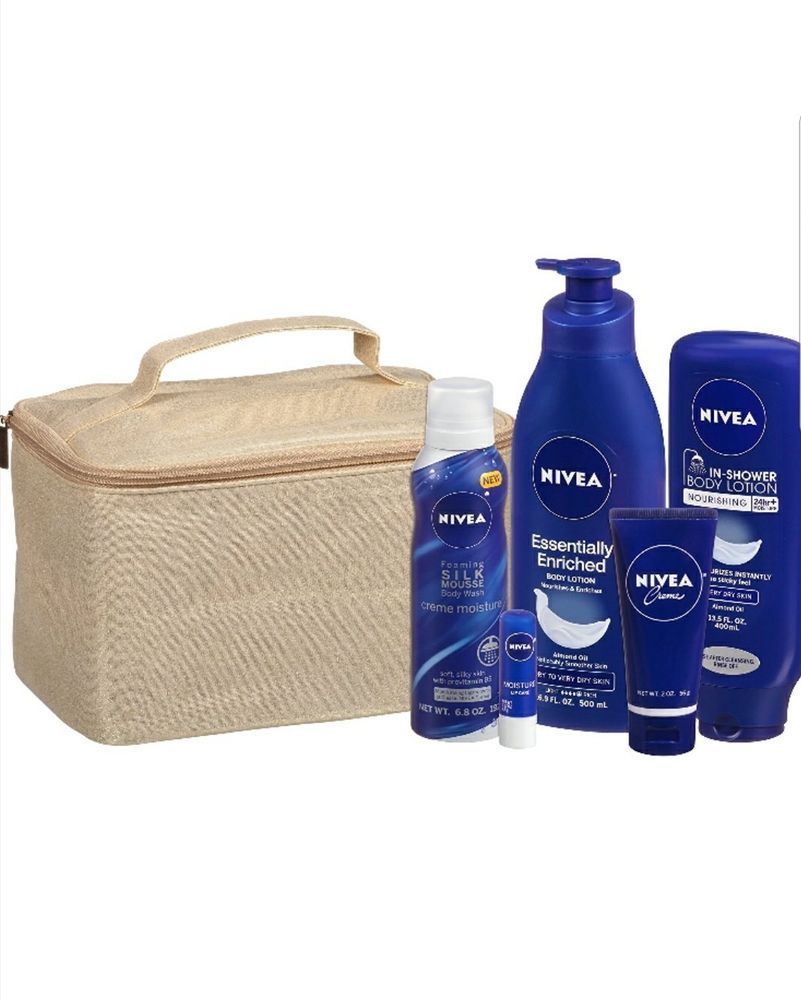 Bath And Body Lotion Nivea Luxury Collection Enriched Nourishing 5 Pcs Gift Set Bath And Body Body Lotion Lotion