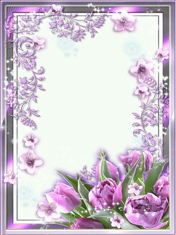 Flower Design Photo Frame Flower - valoblogi com