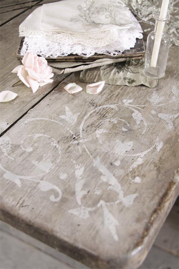 Jeanne D Arc Living Template Schablone Klebefolie Shabby Vintage Deko Brocante Chic Furniture