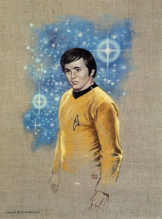 This is a wonderful rendering of Pavel Andreievich Chekov by Kelly Freas