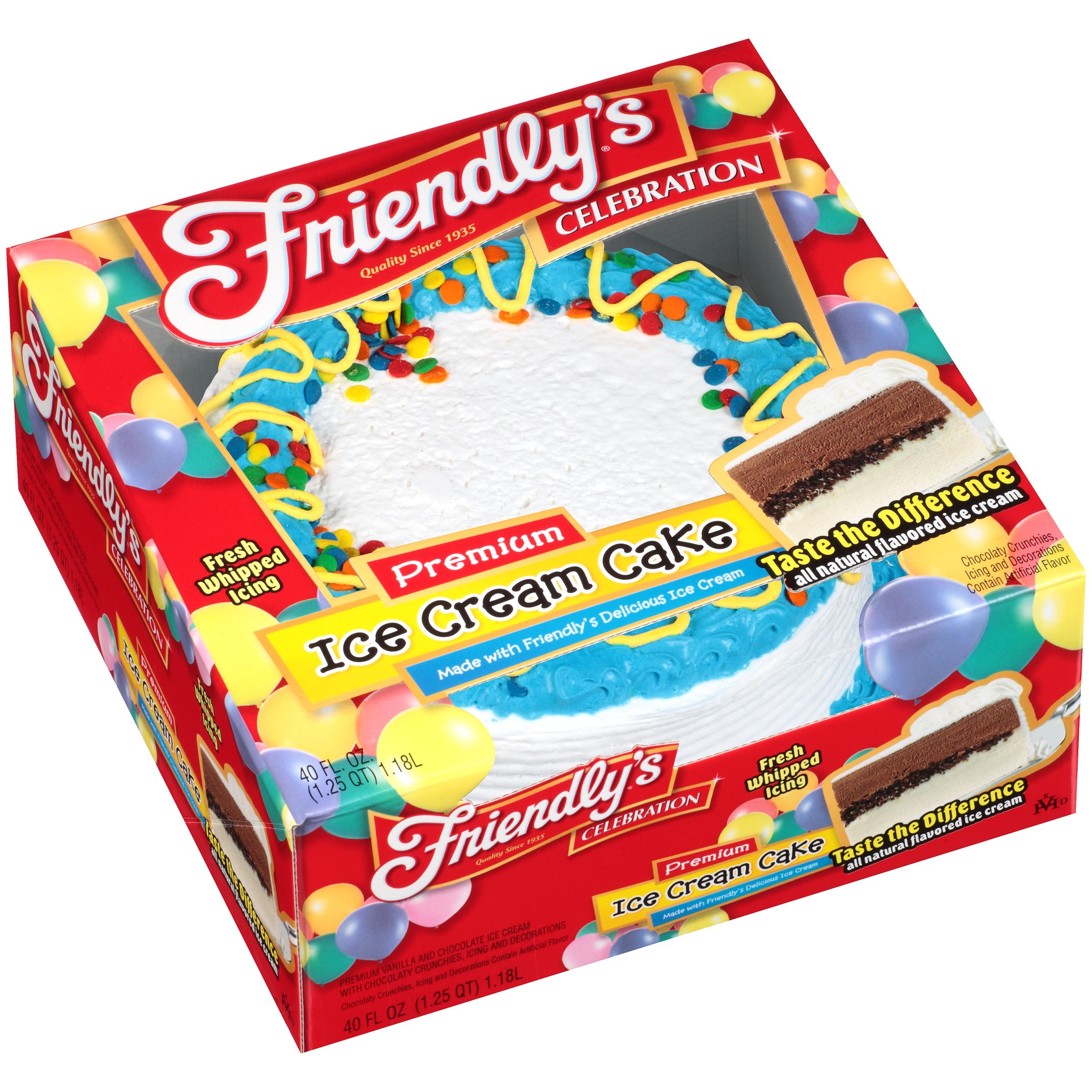 Ice Cream Cake Walmart Com Ice Cream Cake Friendly S Ice Cream Cream Cake