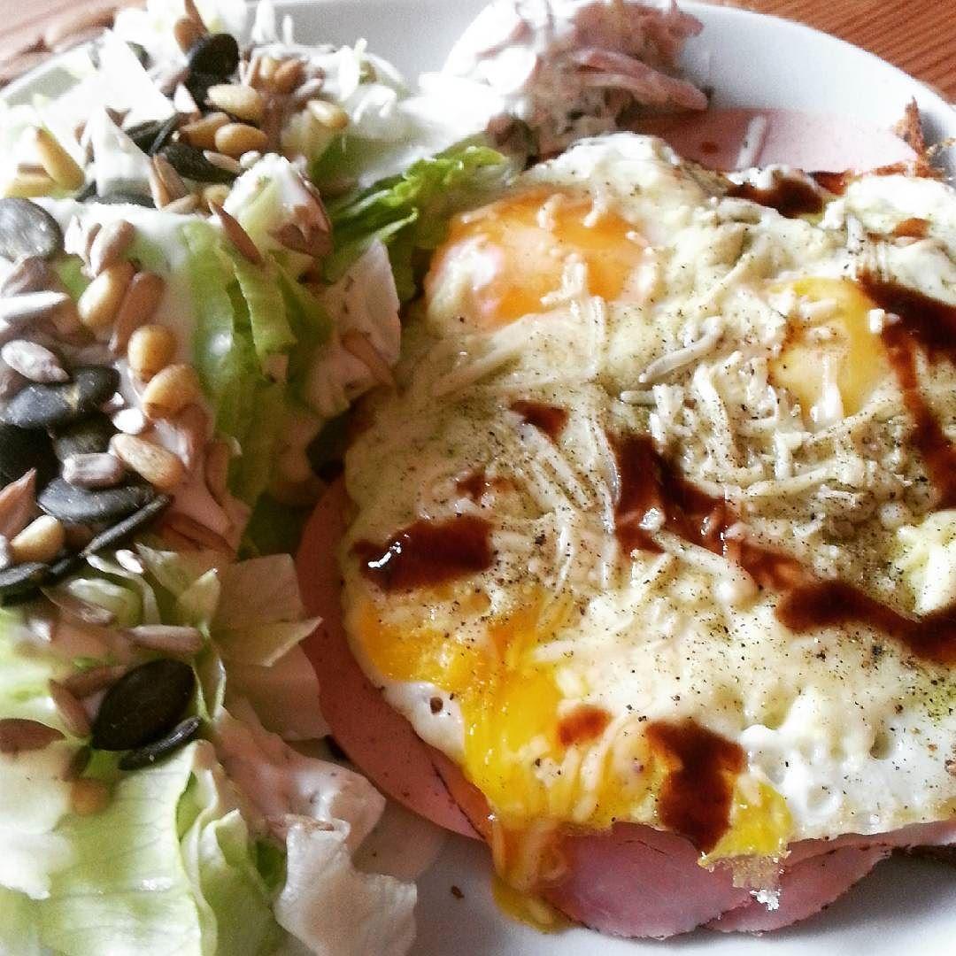 #strammermax #salat #eiweissbrot #lowcarbdeutschland #lowcarb #eatlowcarb #eatclean #gesundessen #besserleben #fit_cooking #homemade by 1annette66