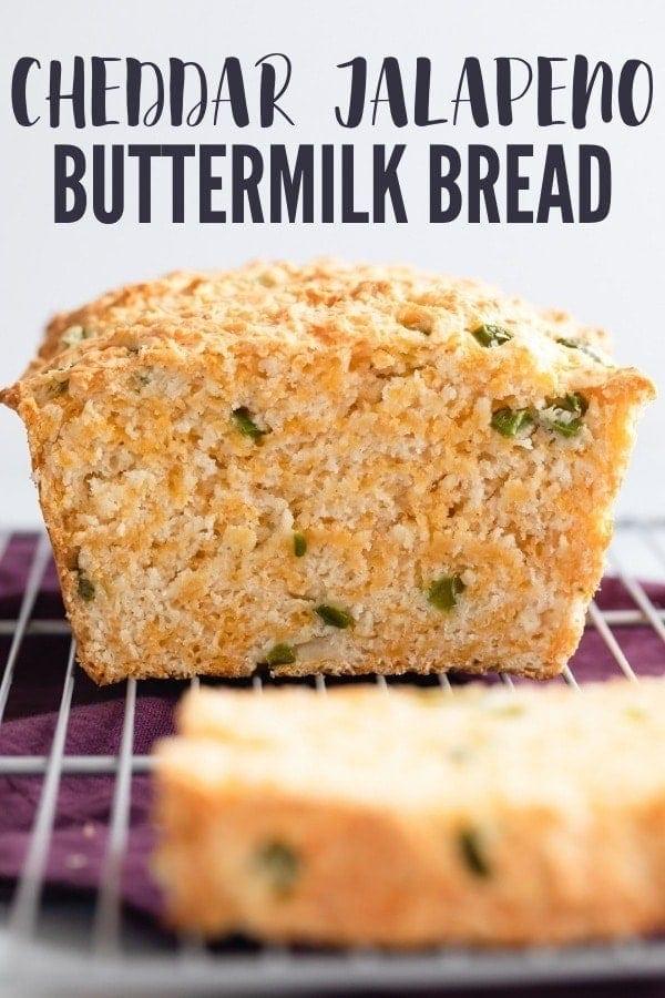 Cheddar Jalapeno Buttermilk Bread Recipe In 2020 Buttermilk Bread Bread Recipes Homemade Bread