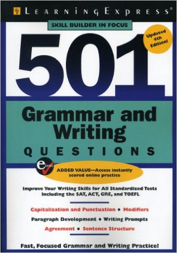 501 Grammar and Writing Questions http//adf.ly/1SwZvJ
